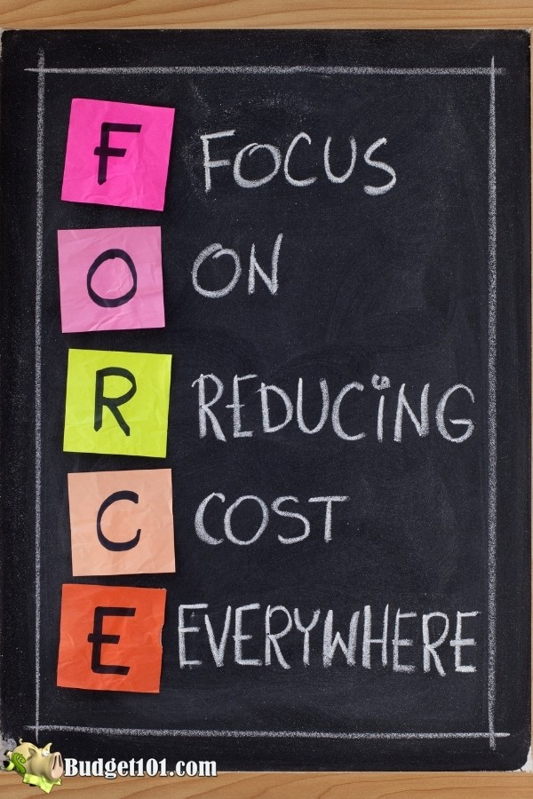 FORCE Budgeting- Focus On Reducing Costs Everywhere
