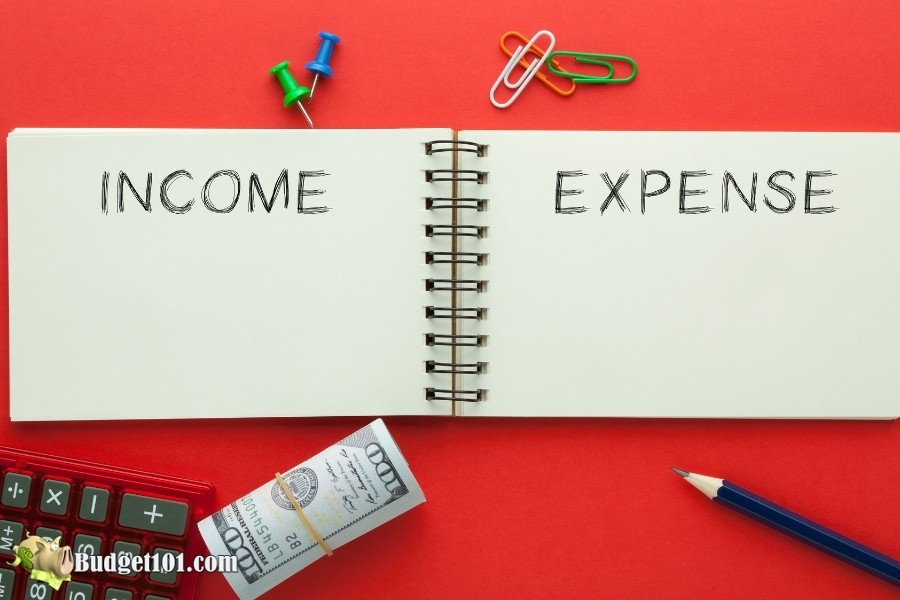 income vs expenses how to budget