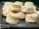 mile high bakewell cream biscuits