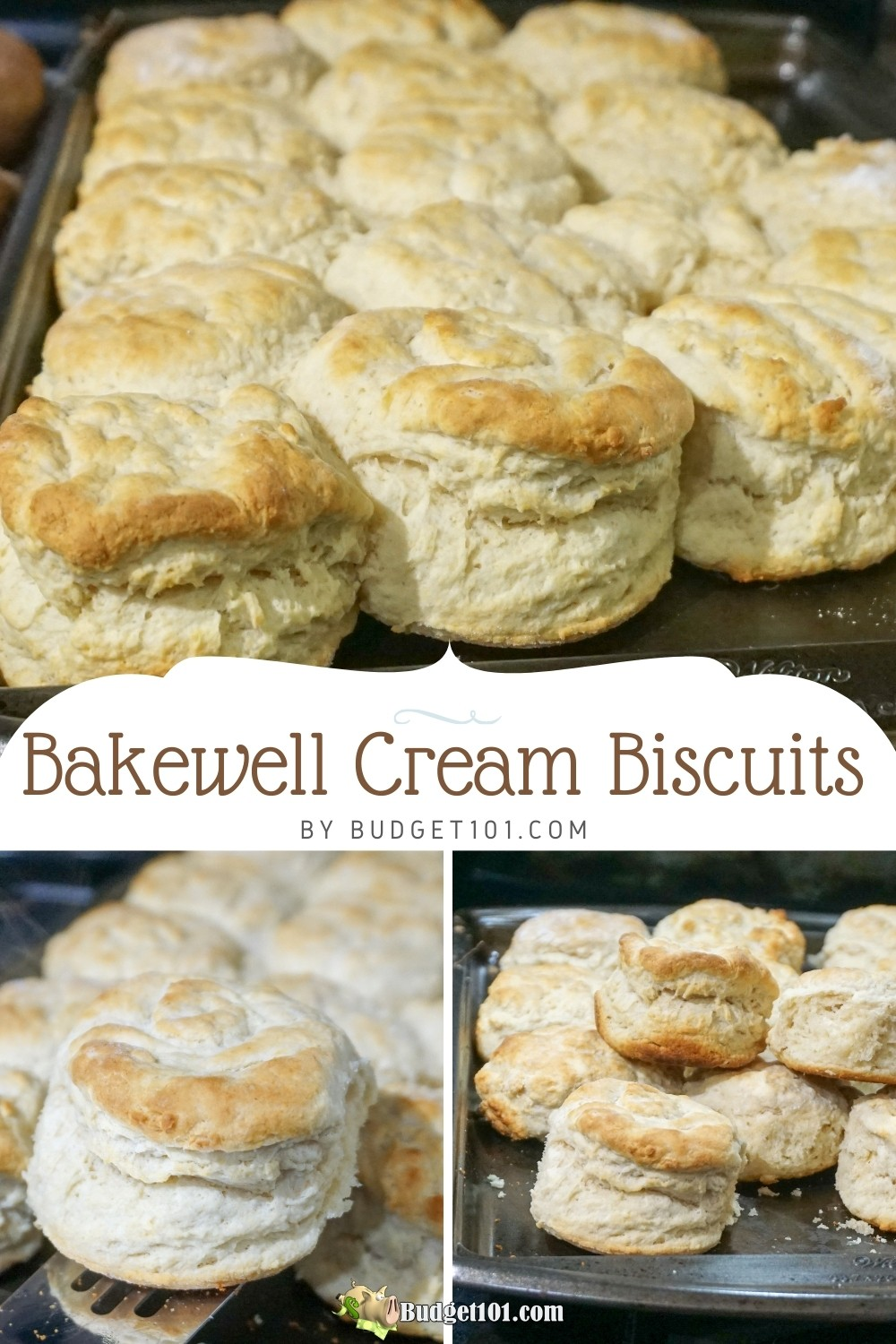 Do you want to know the secret to tall, flaky, light, biscuits? It's bakewell cream! Here's how to make your own, #BakewellCream #biscuits #homemade #MYO #budget101