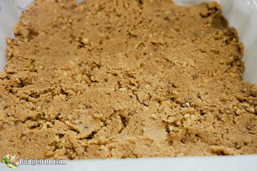 raw keto cinnamon pecan bars budget101