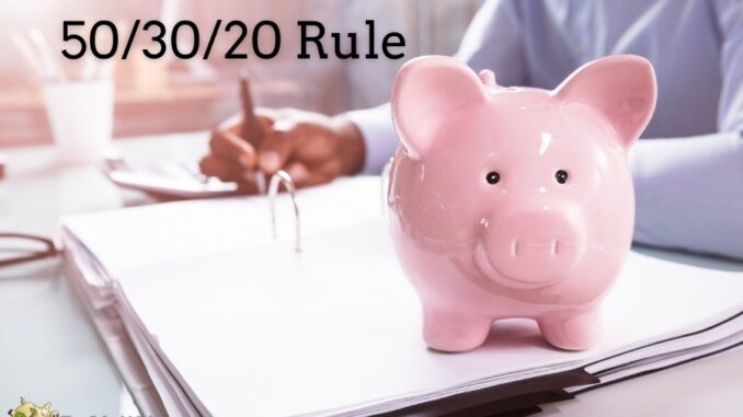the 50 30 20 rule