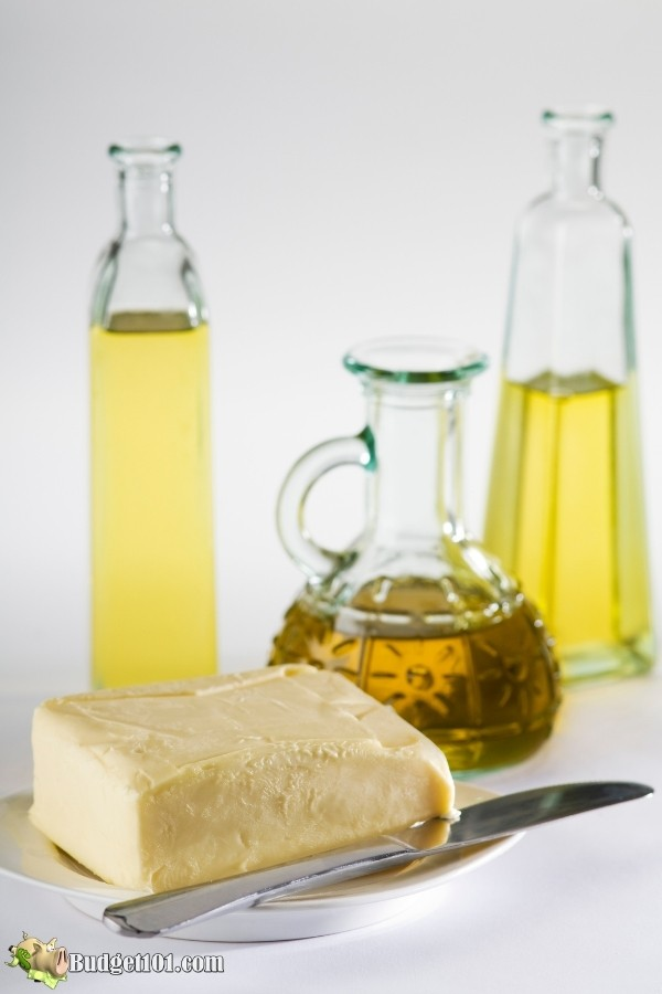cooking fats oil butter