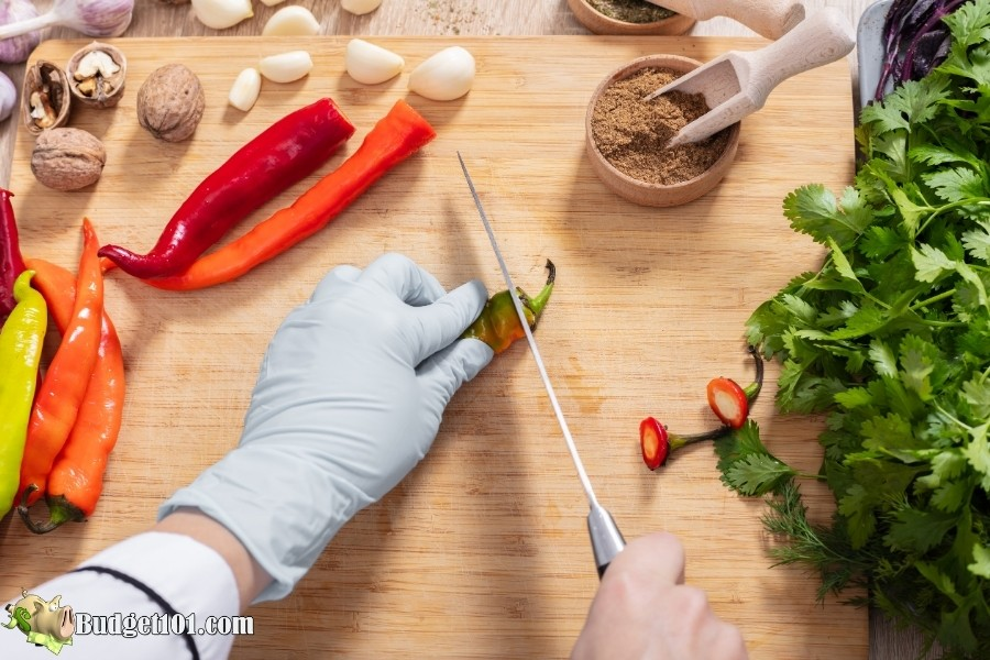 cutting hot peppers safely budget101