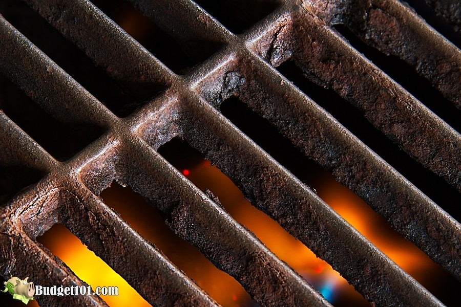 how to remove grill grate rust