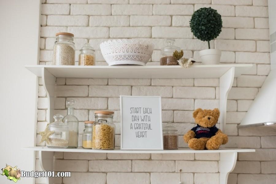 kitchen shelf design budget101