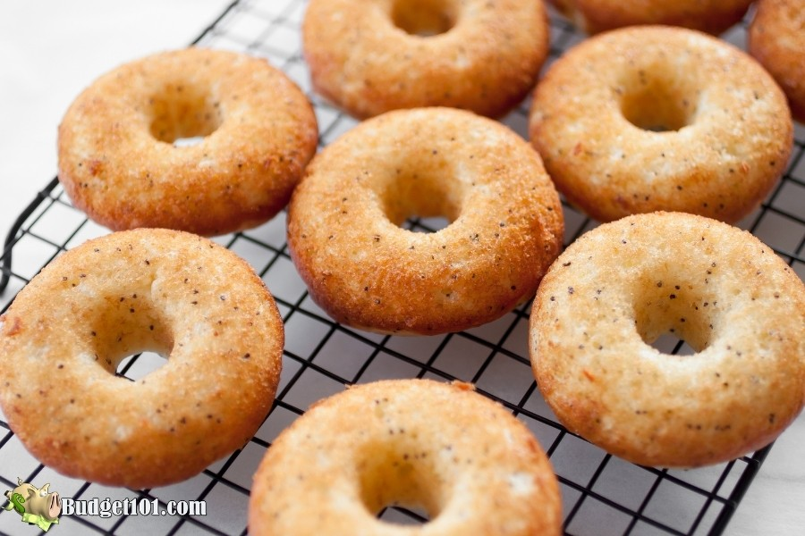 lemon poppyseed donuts budget101