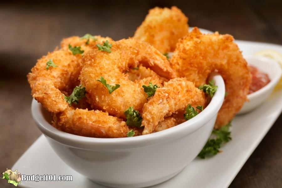 sugar free coconut shrimp