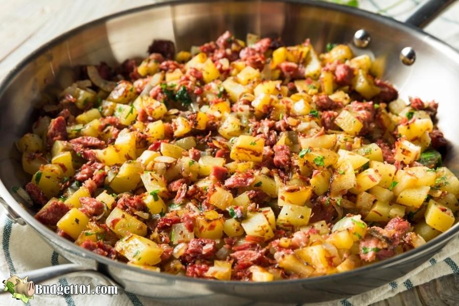 corned beef hash budget101