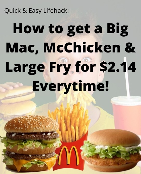 mcdonalds food hacks