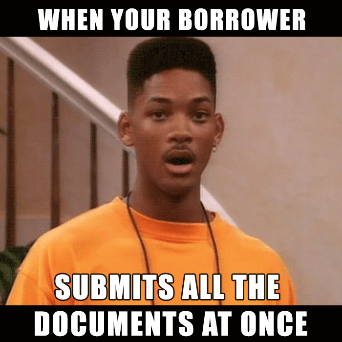 submit loan documents