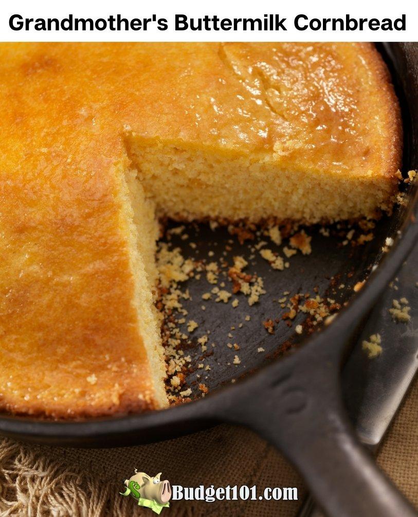 grandmothers buttermilk cornbread