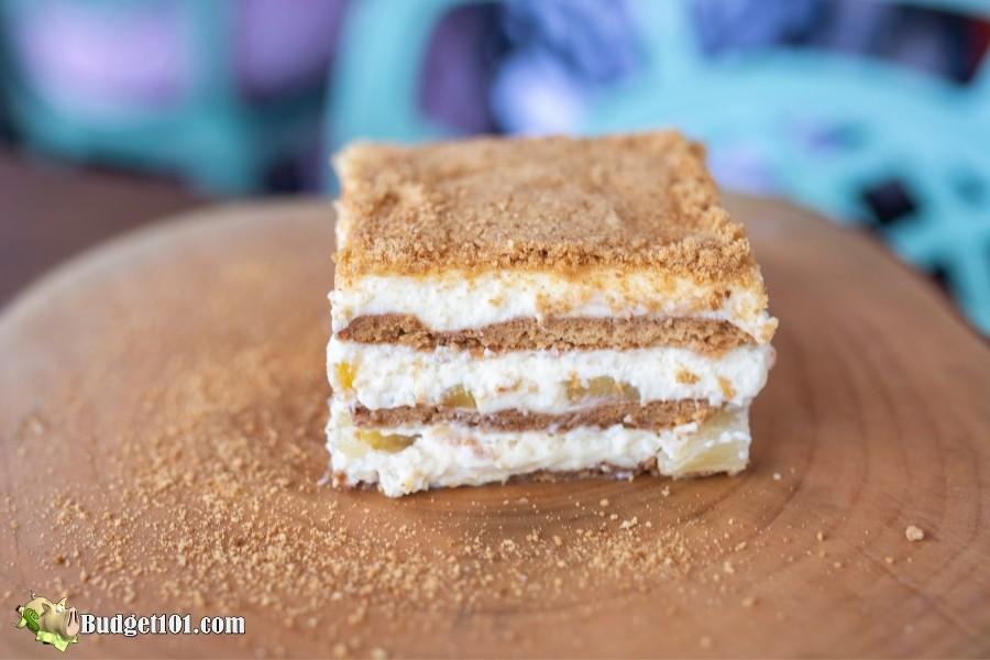 no bake mango float cake dessert