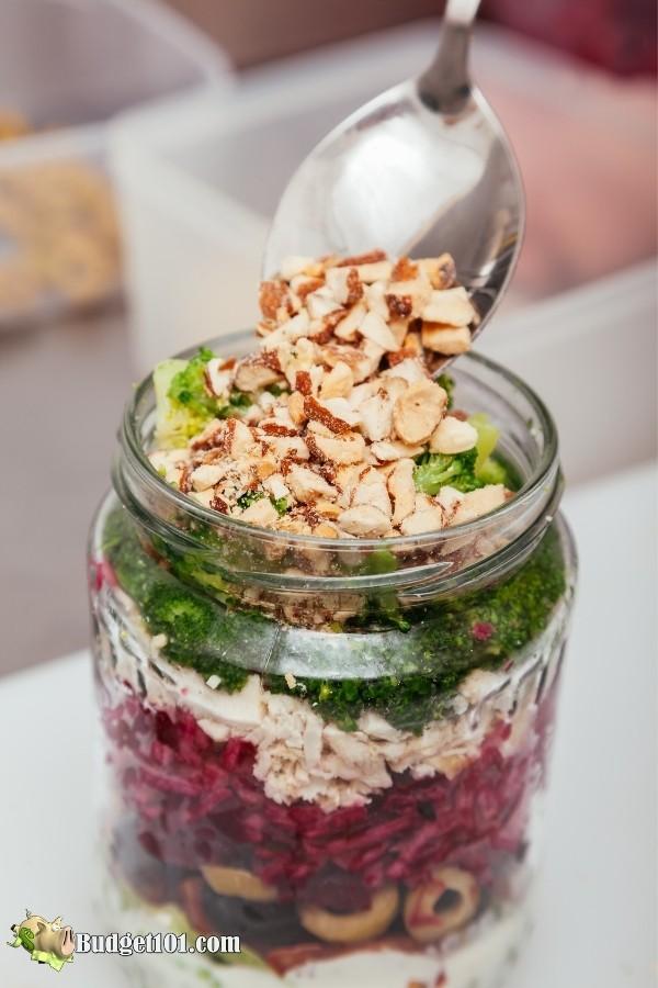 salad in a jar budget101