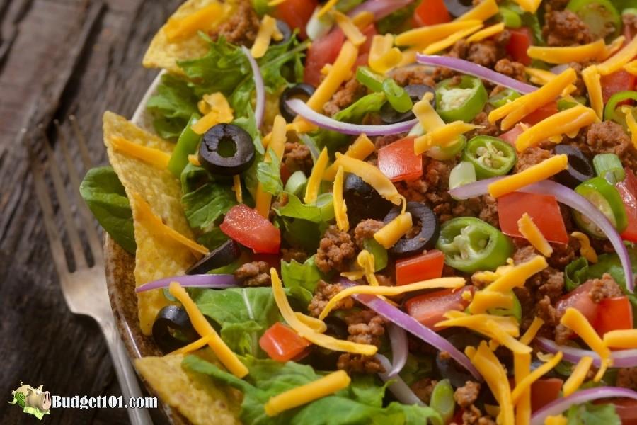 taco salad budget101