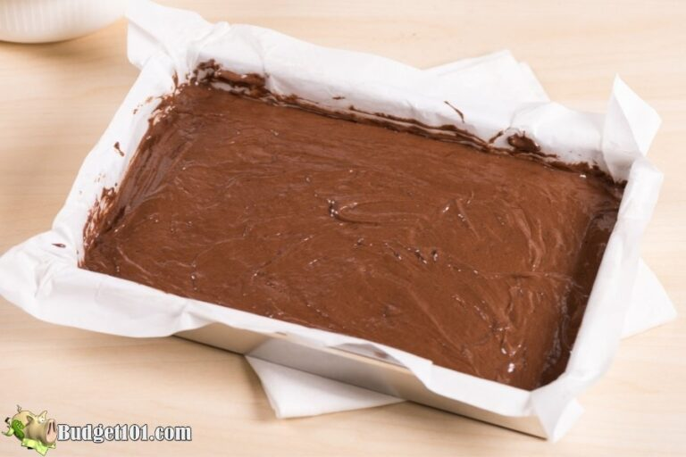 freeze brownie batter
