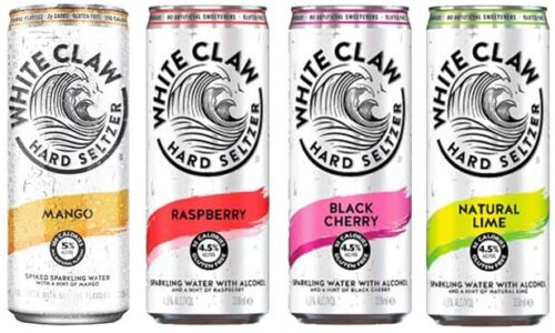 white claw flavors