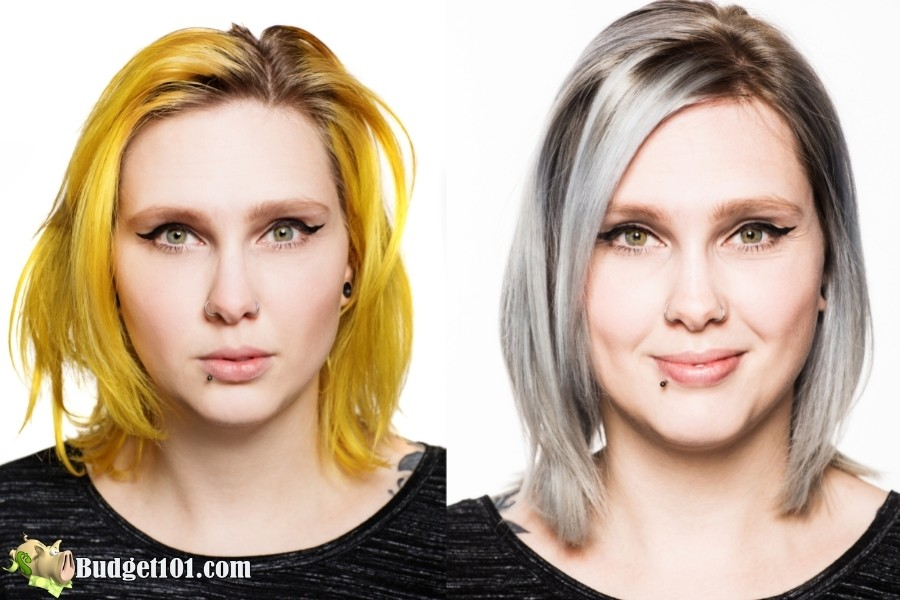 dye hair at home