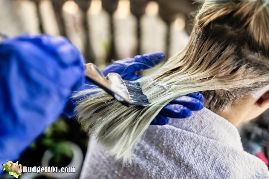 home hair coloring hacks budget101