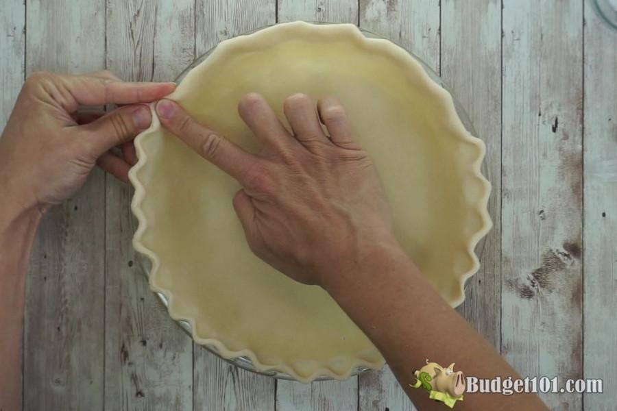 flute pie crust