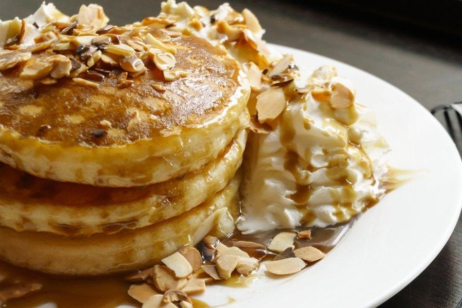 homemade almond pancakes using budget101 almond pancake mix recipe