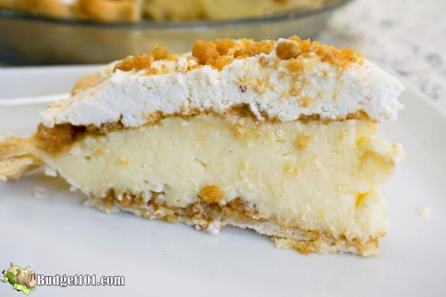 slice of yoders peanut butter cream pie 3