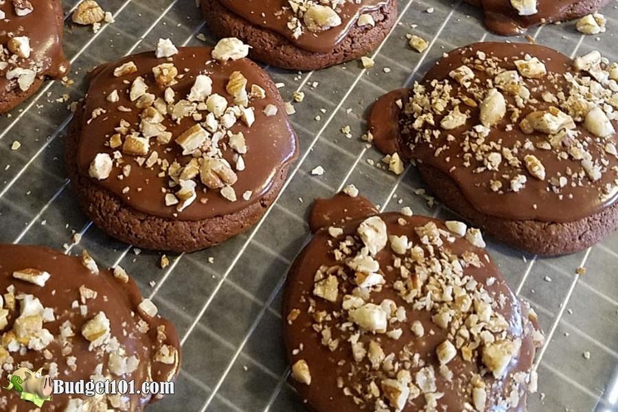 texas sheetcake cake mix cookies
