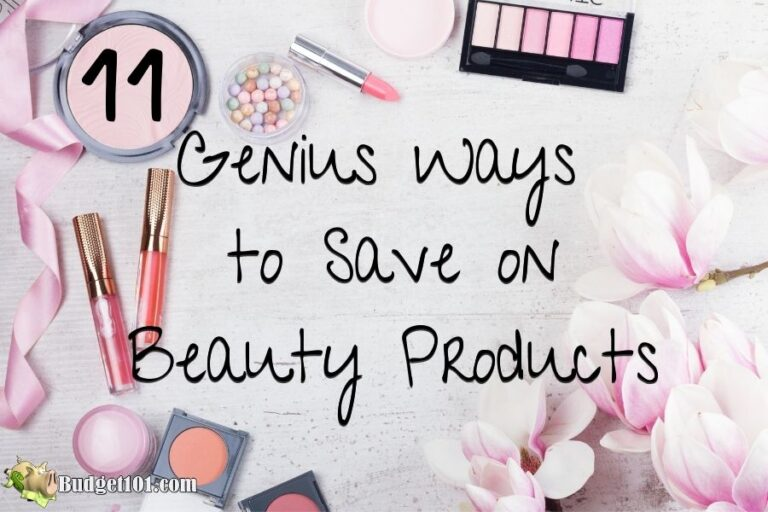11 genius ways save on beauty products