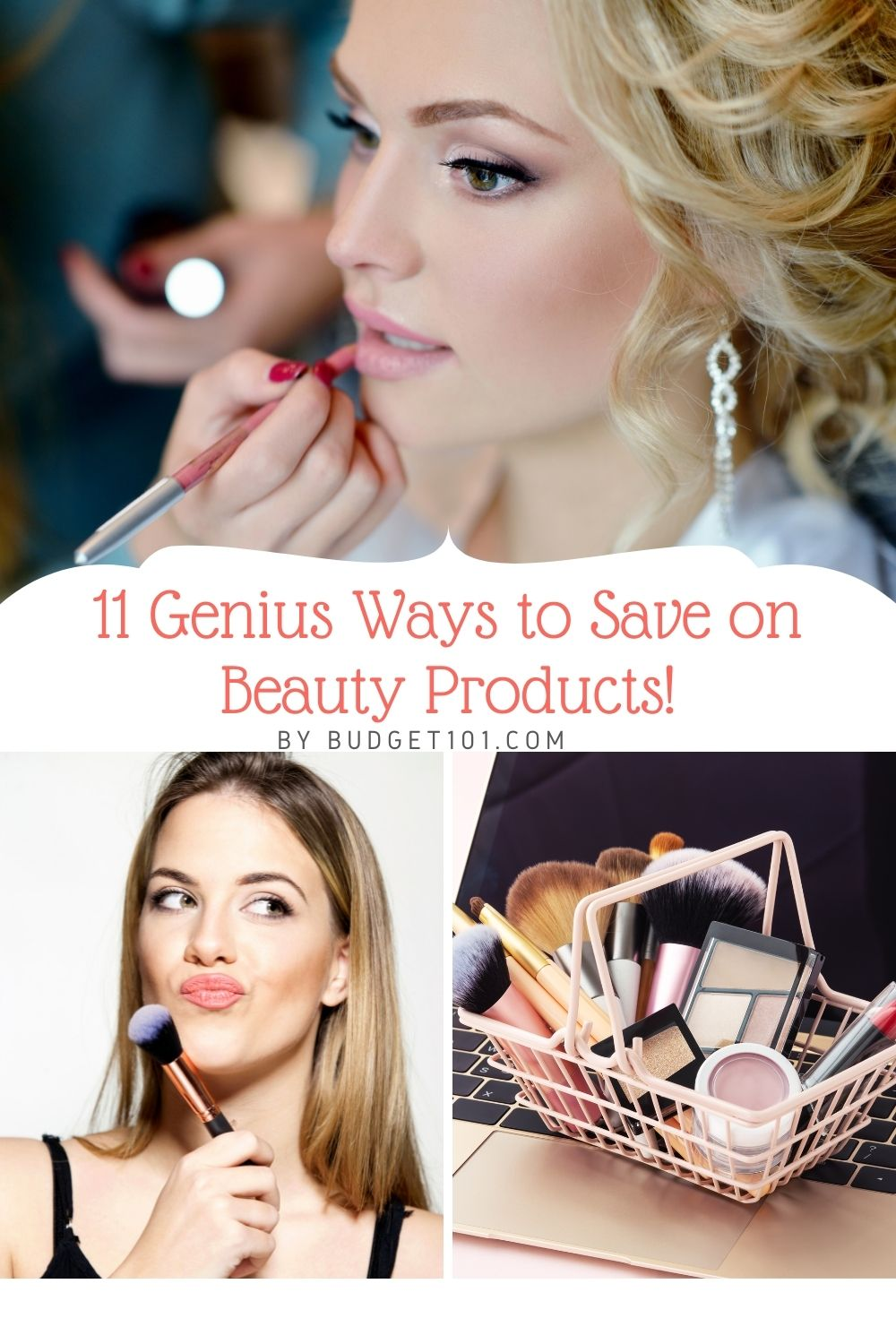 It's no secret that beauty products are expensive. It seems like every week there is a new product hitting the shelves, and it just so happens to be more than your paycheck can afford. The best way to save money with beauty products is by following these 11 genius tips! Who knew you could get such great results without spending an arm and a leg? These pointers will have you looking good for less in no time at all. Read this article NOW! #BeautyProducts #Beauty #MakeUp #Budget101 #DIY