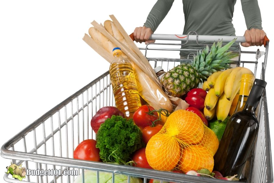 b101 2020 grocery budget guide cart