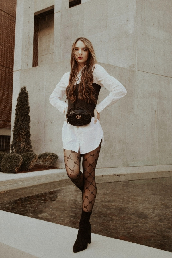 bustier corset