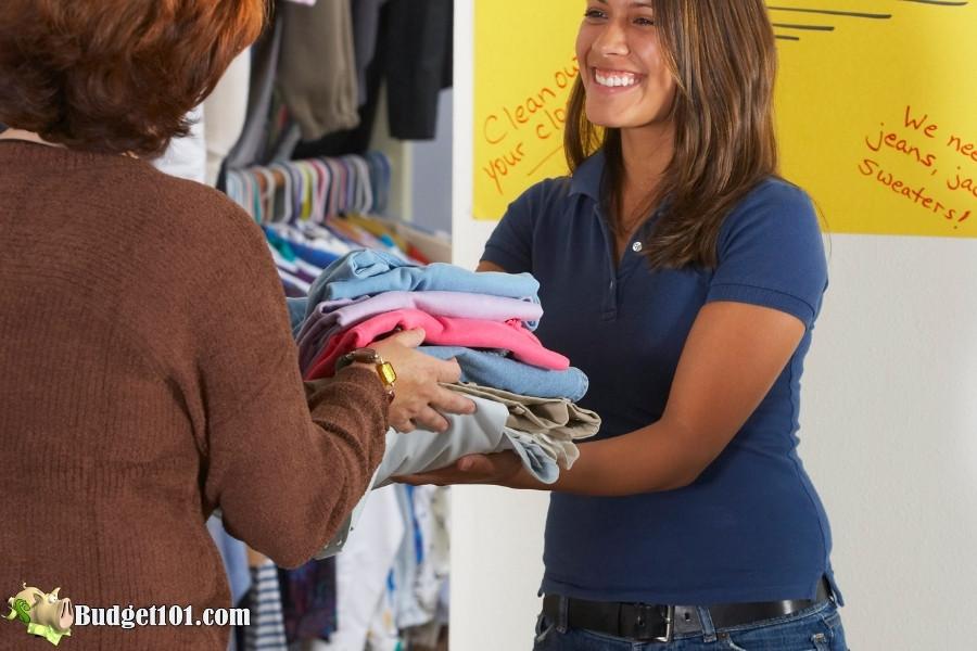 donate clothing 25 wardobe tips n tricks
