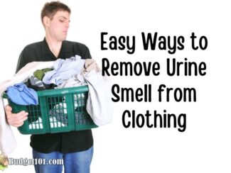 Easy Ways to Remove Urine Smell from Clothing