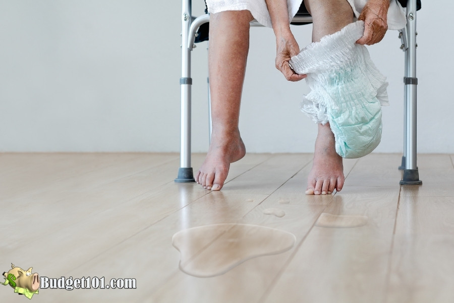 elderly urine issues