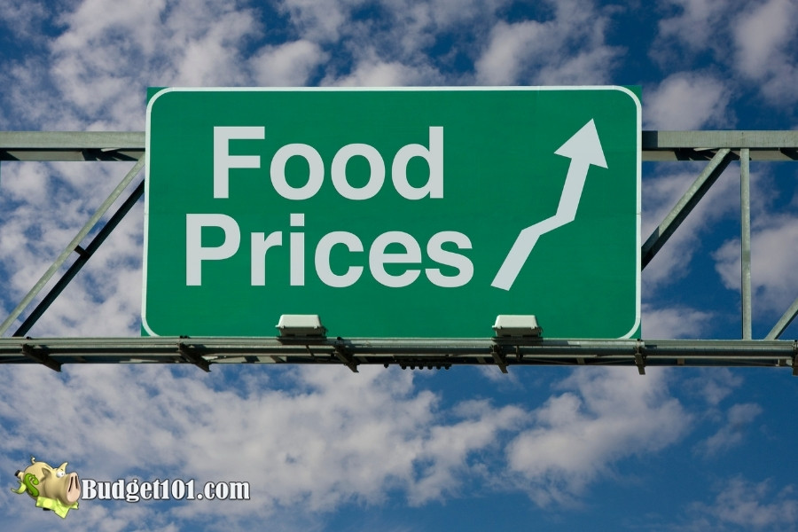 steadily rising food prices