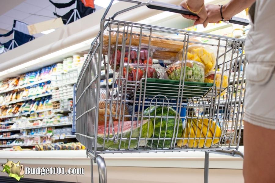 grocery expense per week
