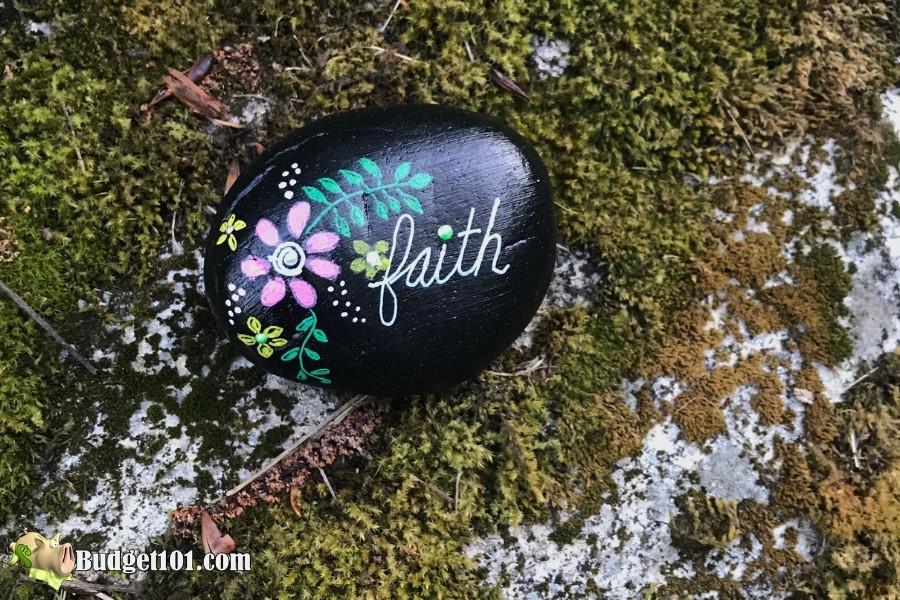 inspirational messages rock painting hobbies