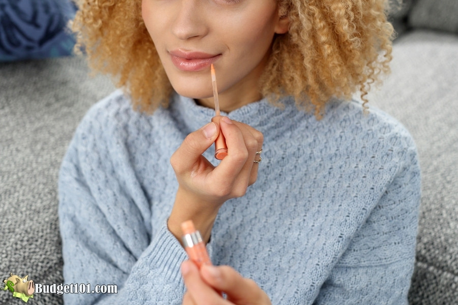 liquid lipgloss tip genius ways save on beauty products