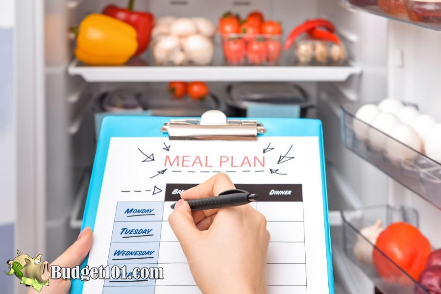 menu planning to money