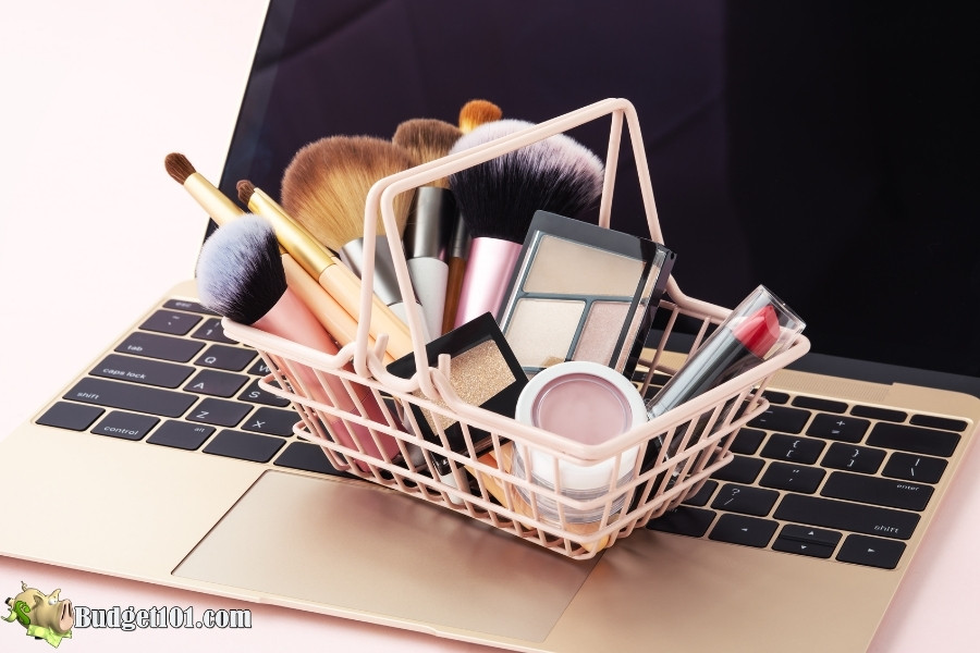 shopping cart genius ways save on beauty products