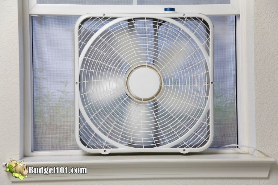 using box fan tips to stay cool