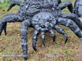 DIY Creepy Halloween Spider from Repurposed Umbrella